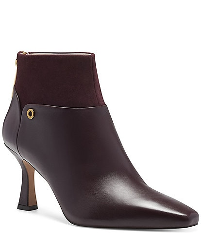Louise et Cie Lydie Leather Suede Booties