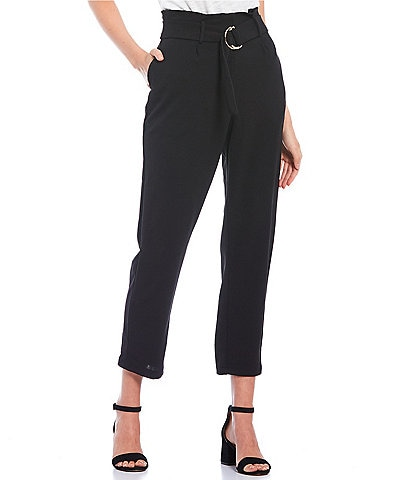 Love & Piece High-Rise Belted Waist Pants