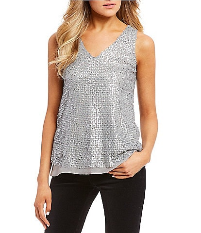 Love on a Hanger Sequined Top