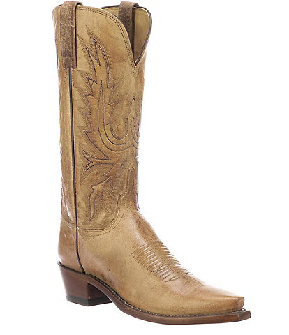Lucchese Savannah Mad Dog Goat Leather Western Boots