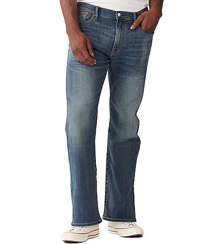 Lucky Brand 181 Greenvale Relaxed-Fit Straight Leg Jeans