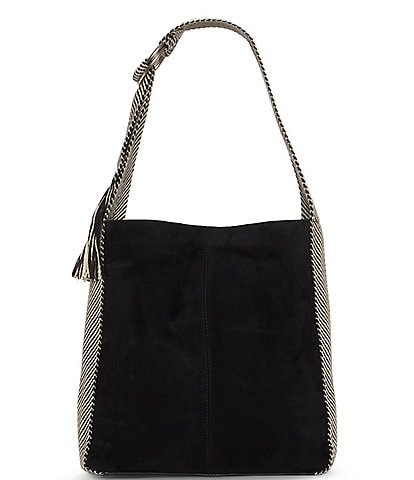 Lucky Brand Adyn Suede Snap Hobo Bag