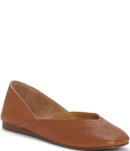 Lucky Brand Alba Leather Flats