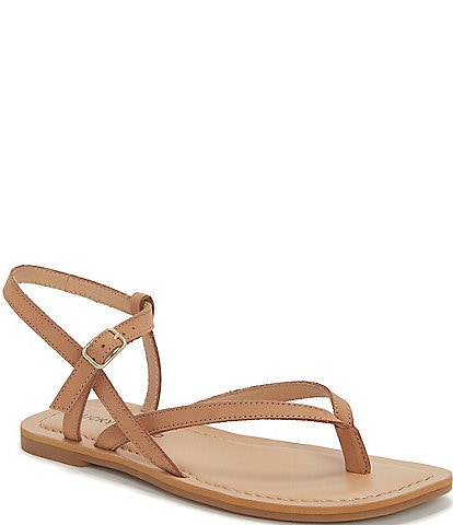 Lucky Brand Bylee Leather Thong Sandals