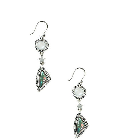 Lucky Brand Celestial Drop Earrings