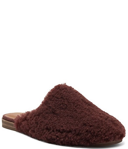 Lucky Brand Colliey Casual Faux Fur Mules