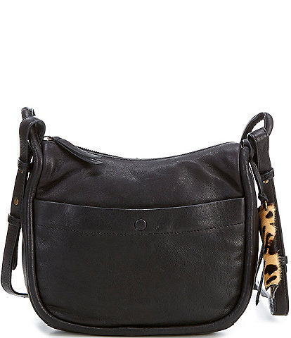 Lucky Brand Dayn Leather Crossbody Bag