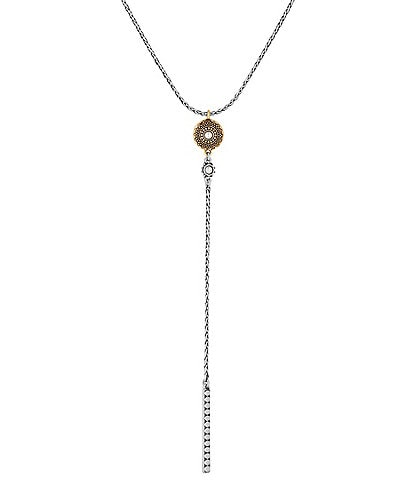 Lucky Brand Etched Y-Necklace