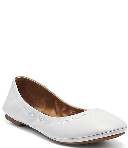 Lucky Brand Emmie Leather Ballet Flats