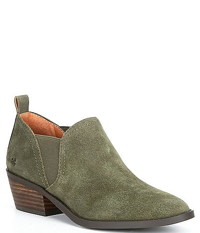 Lucky Brand Fallo Leather Booties