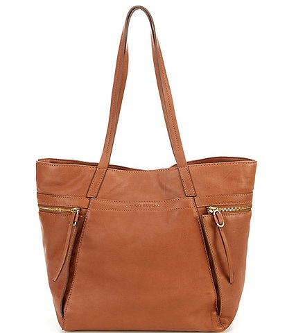 Lucky Brand Faye Leather Snap Tote Bag