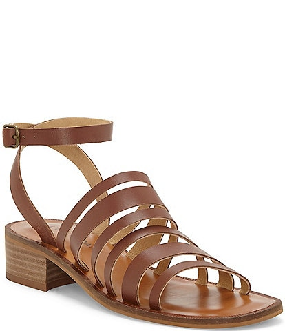 Lucky Brand Firola Leather Gladiator Sandals