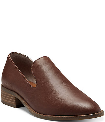 Lucky Brand Garny Leather d'Orsay Loafers