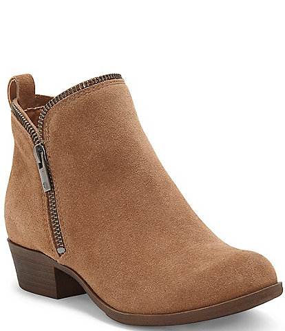 Lucky Brand Girls' Bartalino Microsuede Booties (Youth)