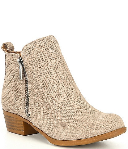 Lucky Brand Girls' Basel Booties Youth