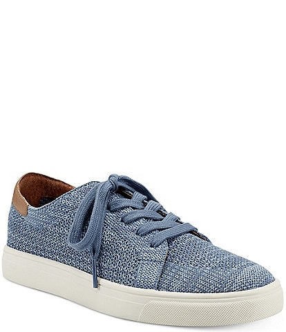 Lucky Brand Leigan Knit Lace-Up Sneakers