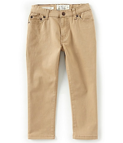 Lucky Brand Little Boys 2T-7 Twill Trouser Pants