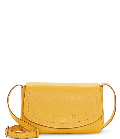 Lucky Brand Lyia Leather and Suede Convertible Wallet Crossbody Bag
