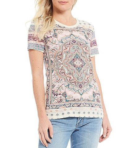Lucky Brand Persian Graphic Tee