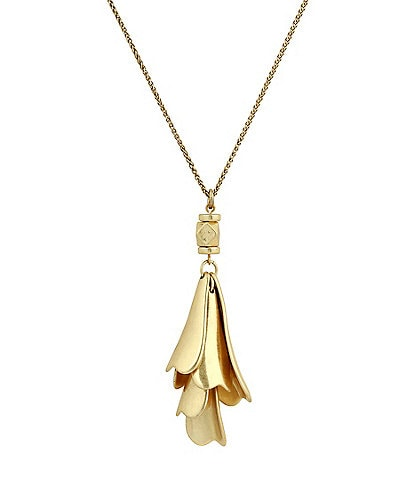 Lucky Brand Petal Pendant Necklace