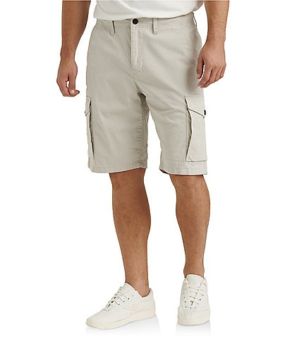 Lucky Brand Saturday Stretch Twill Cargo 10#double; Inseam Shorts