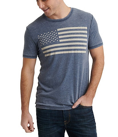 Lucky Brand Short-Sleeve USA Flag T-Shirt