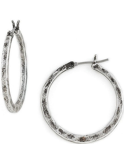 Lucky Brand Small Round Hoop Earrings