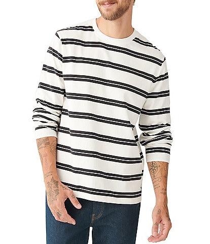 Lucky Brand Sunset Long-Sleeve Stripe Pullover