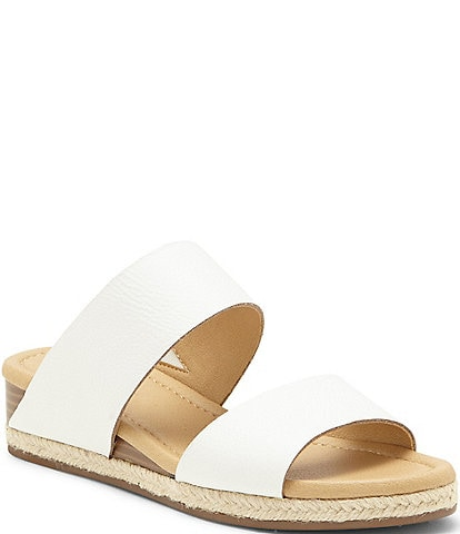 Lucky Brand Wyntor Leather Banded Espadrille Sandals