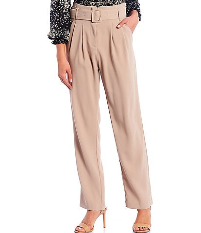 Lucy Paris Paperbag Belted Pants