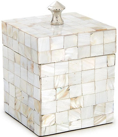 Luxury Hotel Mother of Pearl Covered Jar