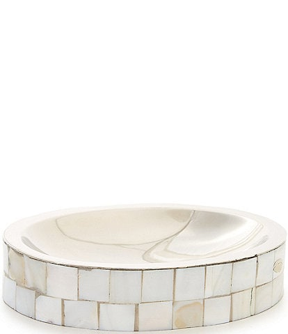 Luxury Hotel Mother of Pearl Soap Dish