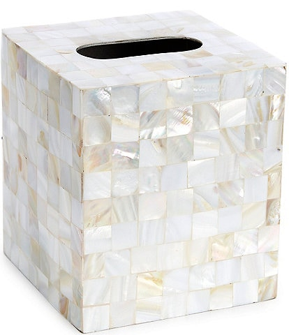 Luxury Hotel Mother of Pearl Tissue Cover