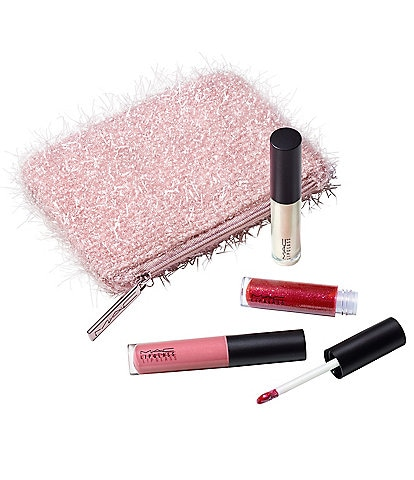 MAC Frosted Firework Collection Fireworked Like a Charm Mini Lipglass Kits