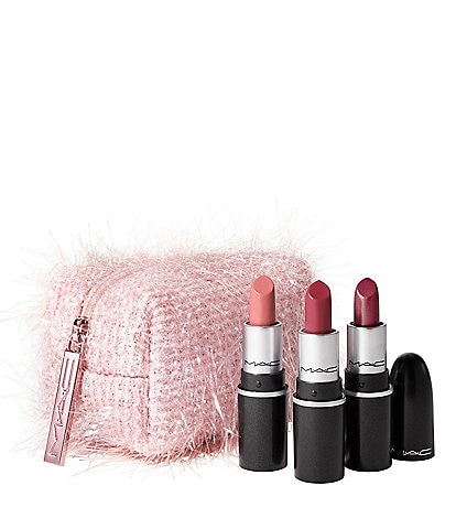 MAC Frosted Firework Collection Fireworked Like a Charm Mini Lipstick Kits