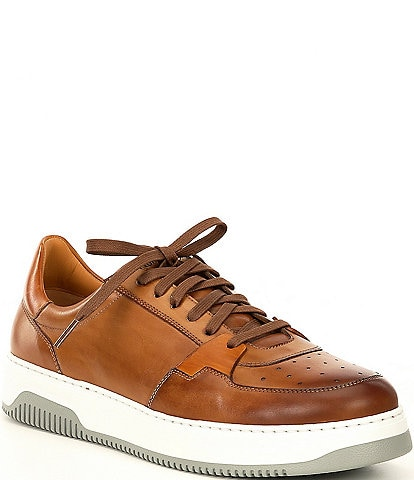 Magnanni Men's Cordoba Leather Lace-Up Sneakers
