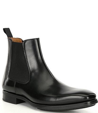 Magnanni Men's Riley Chelsea Leather Boots