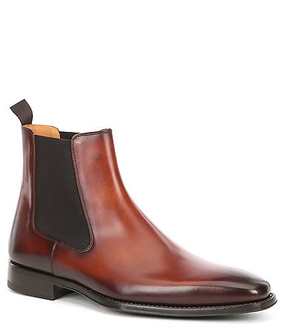 Magnanni Men's Sean Leather Chelsea Boot