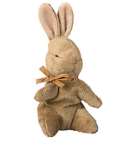 Maileg Ocher Ribbon Plush Bunny