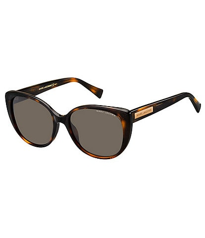 Marc Jacobs Cat Eye Acetate Frame Sunglasses