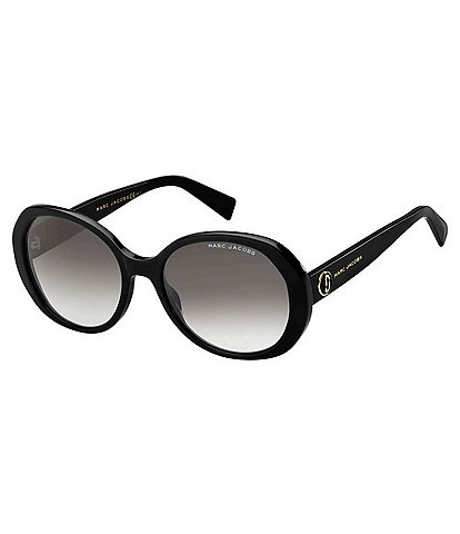 The Marc Jacobs Oval Gradient Lens Sunglasses
