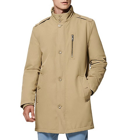 Marc New York #double;Cullen#double; Long-Sleeve Oxford Military-Style Coat