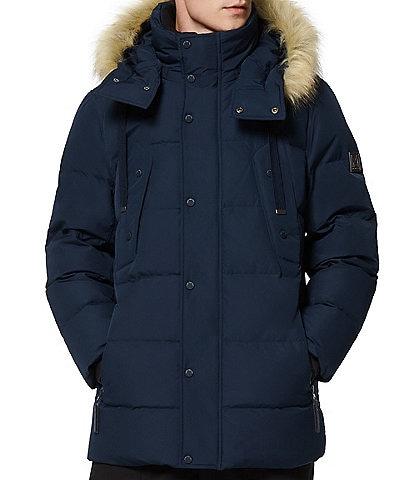 Marc New York #double;Gattica#double; Long-Sleeve Faux-Fur-Trimmed Hooded Parka