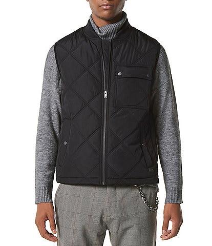 Marc New York Men's Grafton Full-Zip Quilted Vest