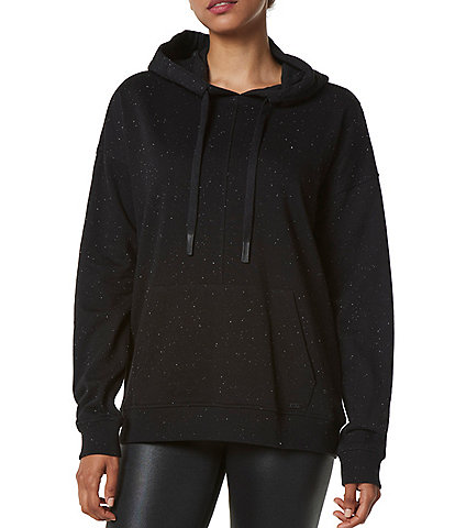 Marc New York Performance Long Sleeve Speckle French Terry Hoodie