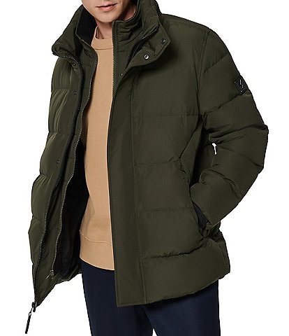Marc New York #double;Stratus#double; Long-Sleeve Hooded Down-Filled Jacket