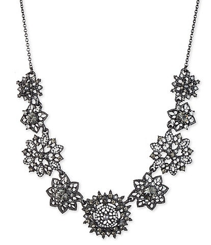 Marchesa Cluster Frontal Necklace