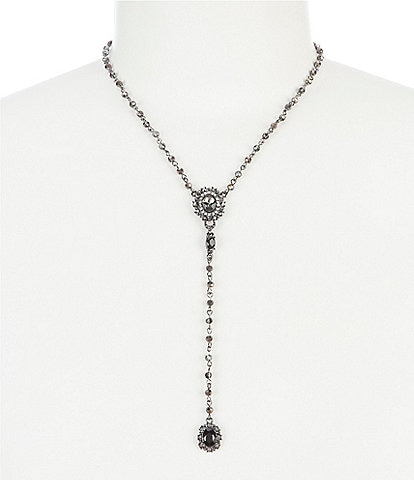 Marchesa Long Y Necklace