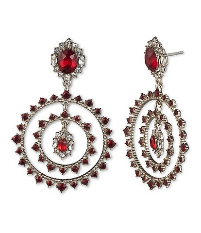 Marchesa Orbital Drop Earrings