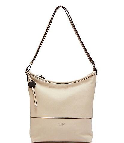 Margot Chester Leather Hobo Crossbody Bag